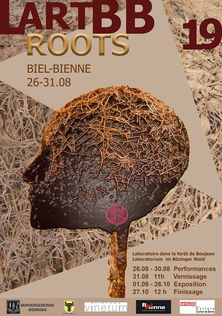 "Laboratorio Land art Biel-Bienne 2019 ""ROOTS"""